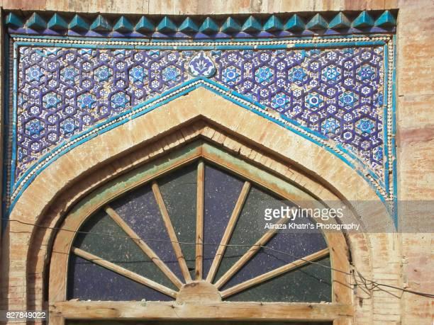 shrine of shah rukn e alam - multan, pakistan - multan stock photos and pictures