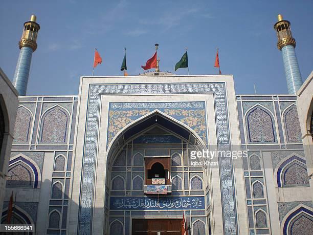 Shrine of Usman Marvandhi (Lal Shabaz Qalandar)