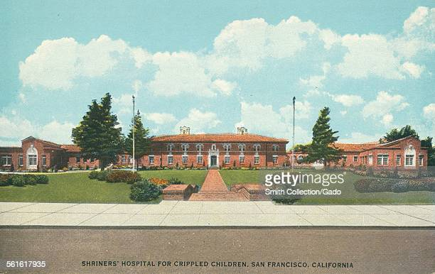 Shriners Hospital for Crippled Children San Francisco California 1927