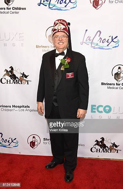 Shriners Hospitals for Children Los Angeles Board Chairman David R Doan attends ECOLUXE Presents 'Salute To OSCAR Noms' Party For Shriners Hospitals...