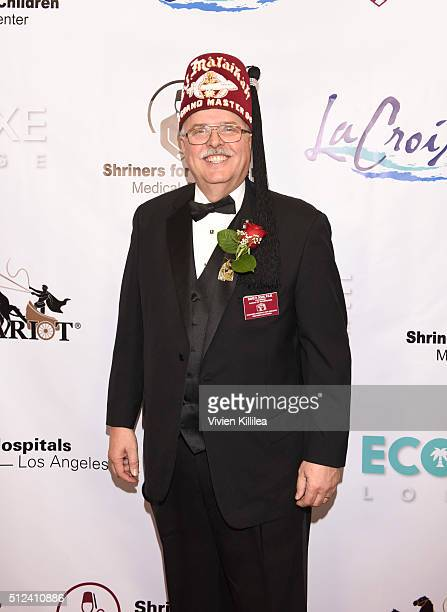 Shriners Hospitals for Children Los Angeles Board Chairman David R Doan attends ECOLUXE Presents Salute To OSCAR Noms Party For Shriners Hospitals...