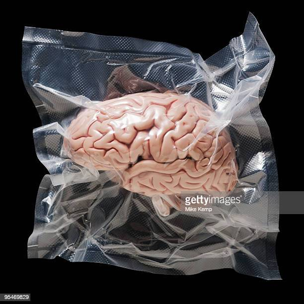 Shrink wrapped brain