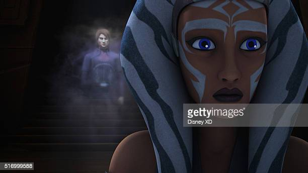 REBELS 'Shroud of Darkness' Kanan Ezra and Ahsoka return to the Jedi Temple on Lothal seeking answers from Yoda about the Inquisitors' ability to...
