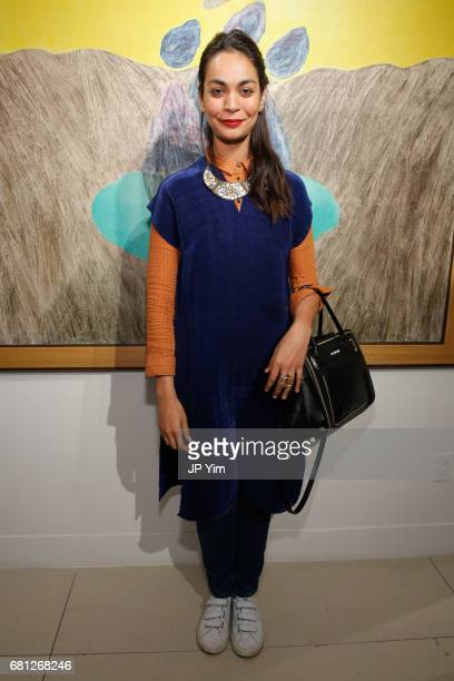 Shruti Ganguli attends 'A Magic Bus Cocktail Party' at DAG Modern on May 9 2017 in New York City