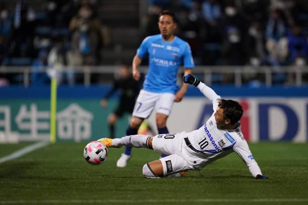 JPN: Yokohama FC v Gamba Osaka - J.League Meiji Yasuda J1