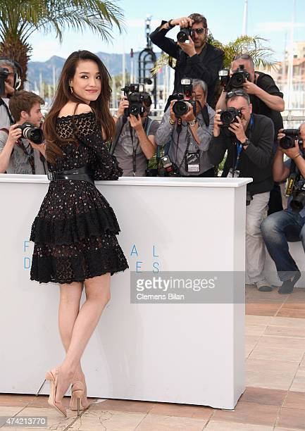 Shu Qi attends a photocall for Nie Yinniang during the 68th annual Cannes Film Festival on May 21 2015 in Cannes France