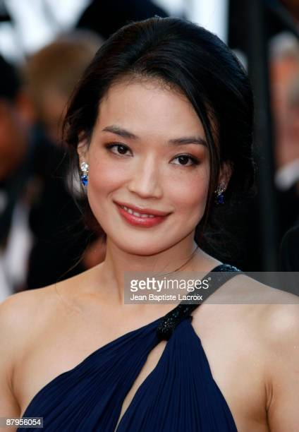 Shu Qi attends the premiere of 'Coco Chanel Igor Stravinsky' at the Grand Theatre Lumiere during the 62nd Annual Cannes Film Festival on May 24 2009...