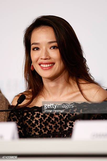 Shu Qi attends the press conference for 'Nie Yinniang' during the 68th annual Cannes Film Festival on May 21 2015 in Cannes France