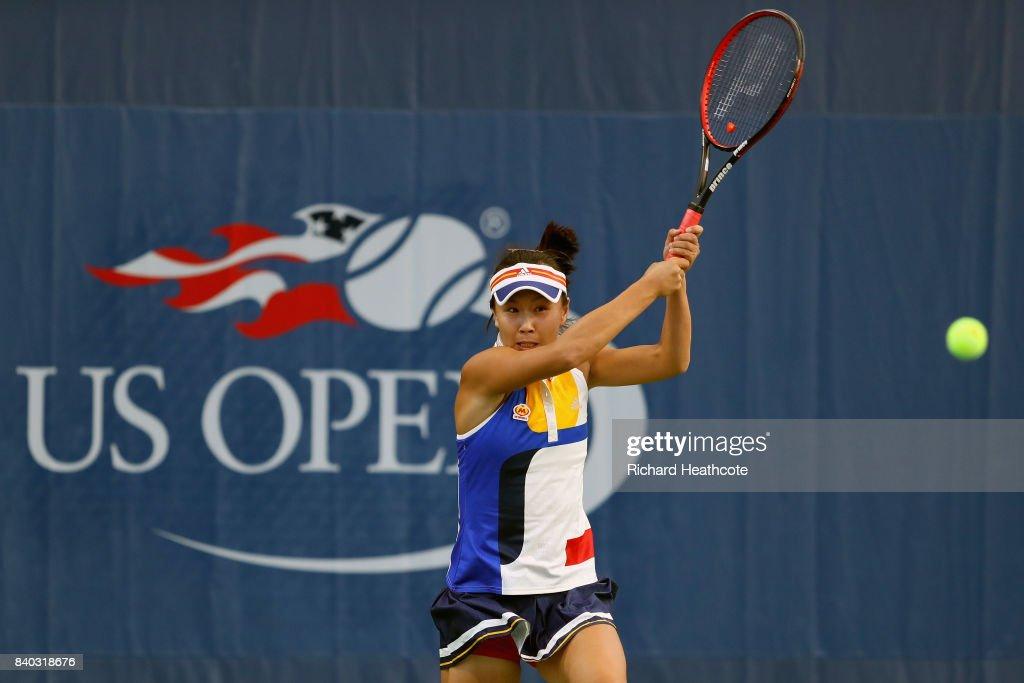 2017 US Open Tennis Championships - Day 1 : Nyhetsfoto