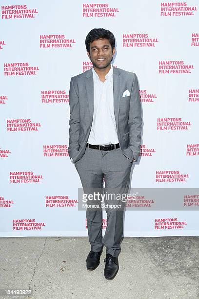 Shubhashish Bhutiani attends the 21st Annual Hamptons International Film Festival Closing Day on October 14, 2013 in East Hampton, New York.