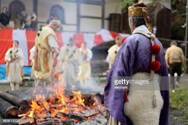 Shugendo ceremony