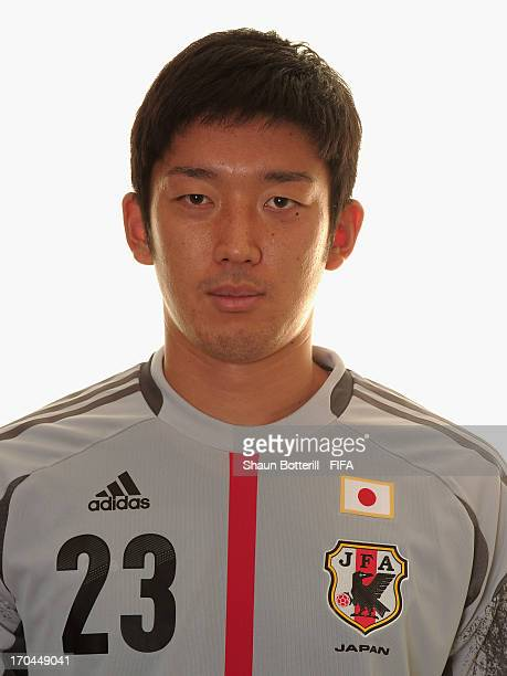 Shuichi Gonda of Japan poses for a portrait at the Kubistchek Plaza Hotel on June 13 2013 in Brasilia Brazil