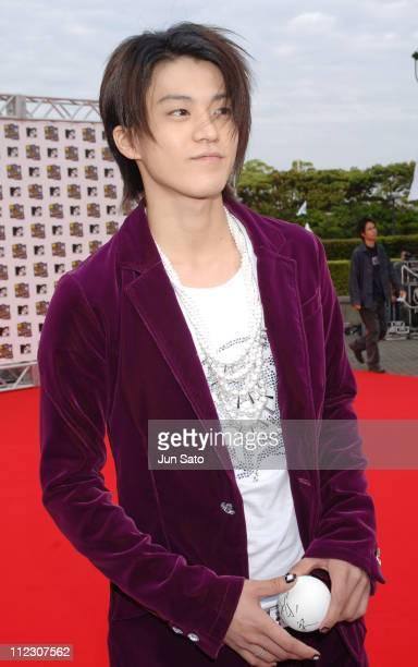 Shun Oguri during MTV Video Music Awards Japan 2005 Outside Arrivals at Tokyo Bay NK Hall in Urayasu Japan