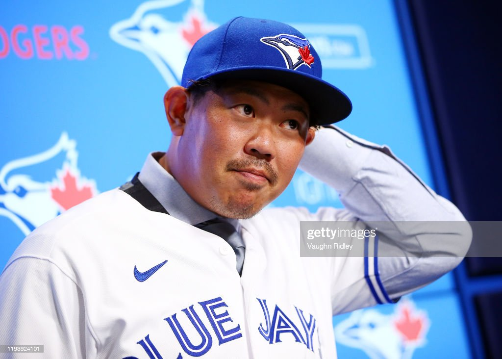 Toronto Blue Jays Introduce Shun Yamaguchi : News Photo
