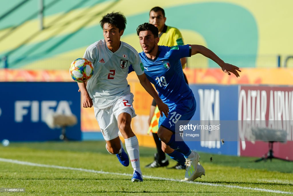 Italy v Japan: Group B - 2019 FIFA U-20 World Cup : ニュース写真