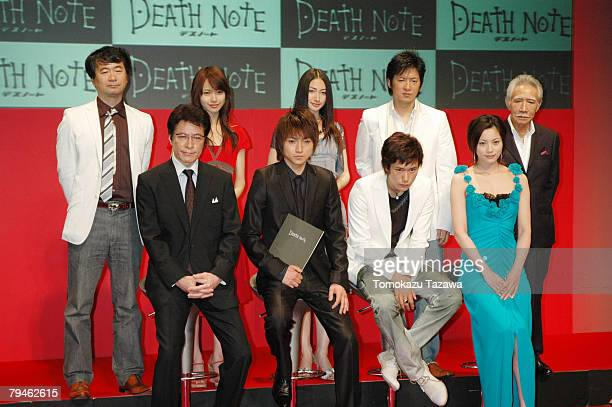 Shunsuke Kaneko ,Takeshi Kaga,Toda Erika,Tatsuya Fujiwara,Yuu Kashii,Kenichi Matsuyama,Shigeki Hosokawa,Asaka Seto and Shunji Fujimura