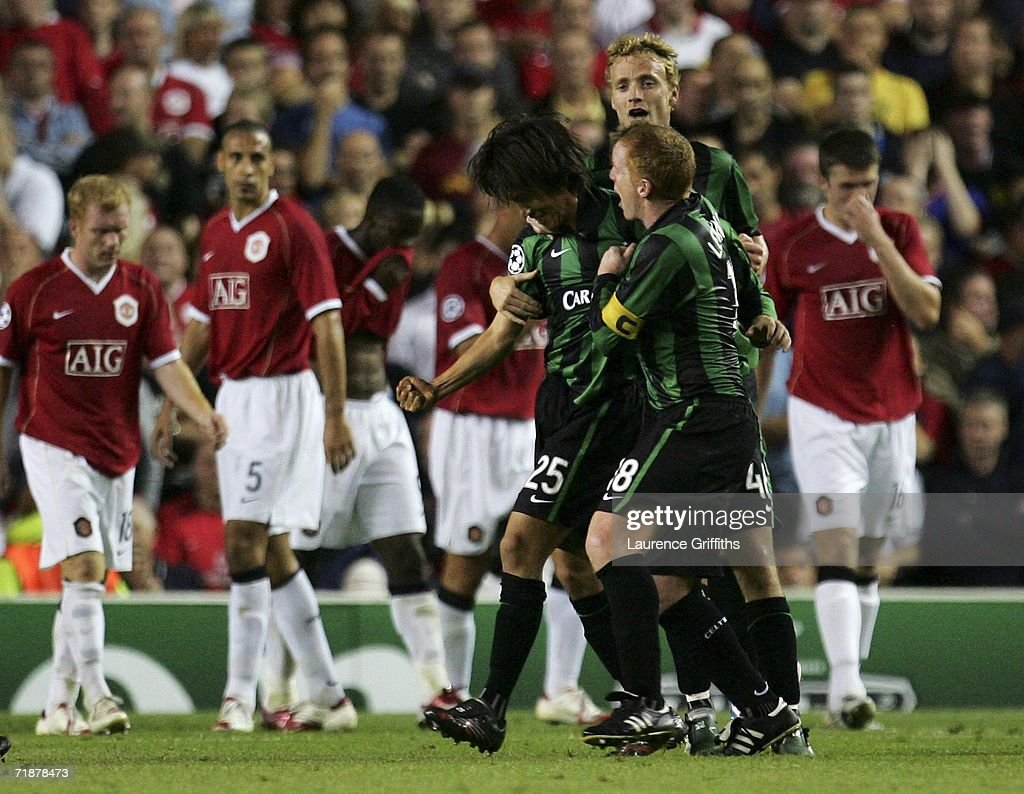 UEFA Champions League: Manchester United v Celtic : ニュース写真