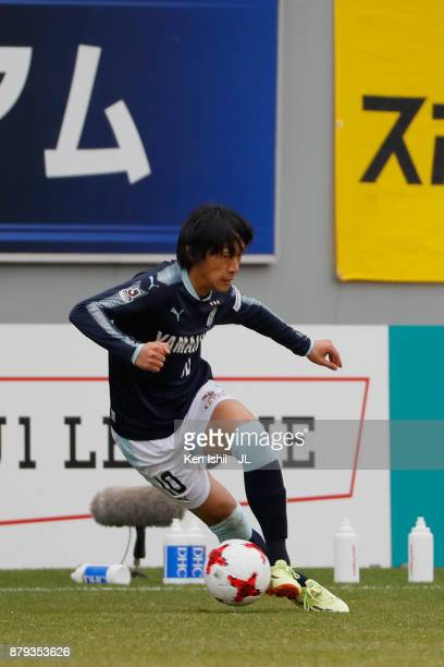 Shunsuke Nakamura of Jubilo Iwata in action during the JLeague J1 match between Sagan Tosu and Jubilo Iwata at Best Amenity Stadium on November 26...
