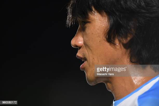 Shunsuke Nakamura of Jubilo Iwata looks on after the JLeague J1 match between Shonan Bellmare and Jubilo Iwata at BMW Stadium Hiratsuka on May 19...