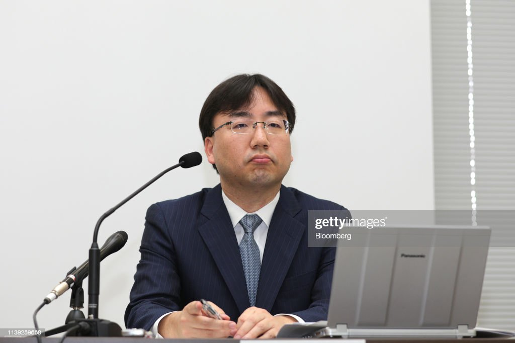 JPN: Nintendo President Shuntaro Furukawa Presents Earnings Figures
