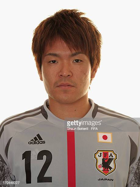 Shusaku Nishikawa of Japan poses for a portrait at the Kubistchek Plaza Hotel on June 13 2013 in Brasilia Brazil