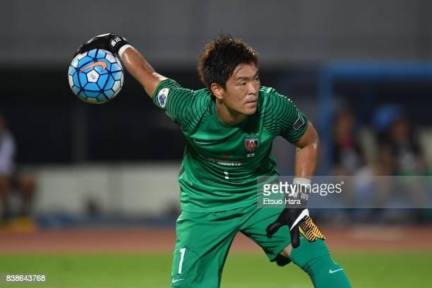 Shusaku Nishikawa of Urawa Red Diamonds in action during the AFC Champions League quarter final first leg match between Kawasaki Frontale and Urawa...