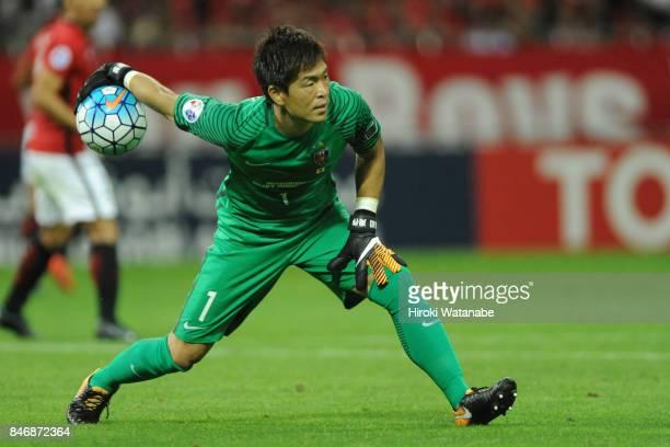 Shusaku Nishikawa of Urawa Red Diamonds in action during the AFC Champions League quarter final second leg match between Urawa Red Diamonds and...