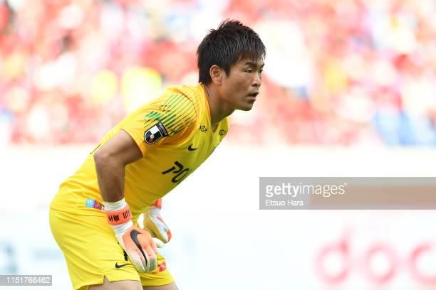 Shusaku Nishikawa of Urawa Red Diamonds in action during the J.League J1 match between Urawa Red Diamonds and Sanfrecce Hiroshima at Saitama Stadium...