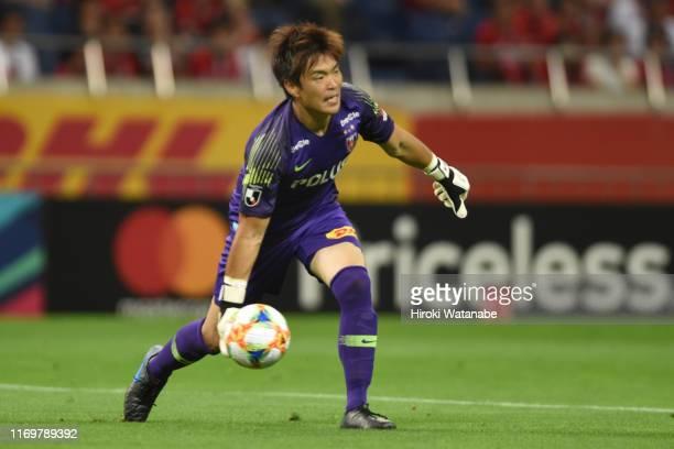 Shusaku Nishikawa of Urawa Red Diamonds in action during the J.League J1 match between Urawa Red Diamonds and Matsumoto Yamaga at Saitama Stadium on...
