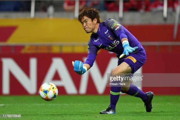 Shusaku Nishikawa of Urawa Red Diamonds in action during the J.League J1 match between Urawa Red Diamonds and Shimizu S-Pulse at Saitama Stadium on...
