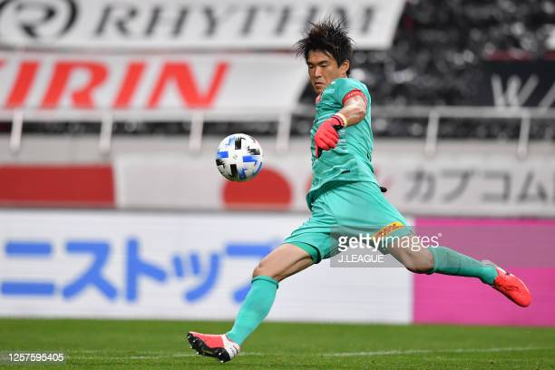 Shusaku Nishikawa of Urawa Red Diamonds in action during the J.League Meiji Yasuda J1 match between Urawa Red Diamonds and Kashiwa Reysol at the...