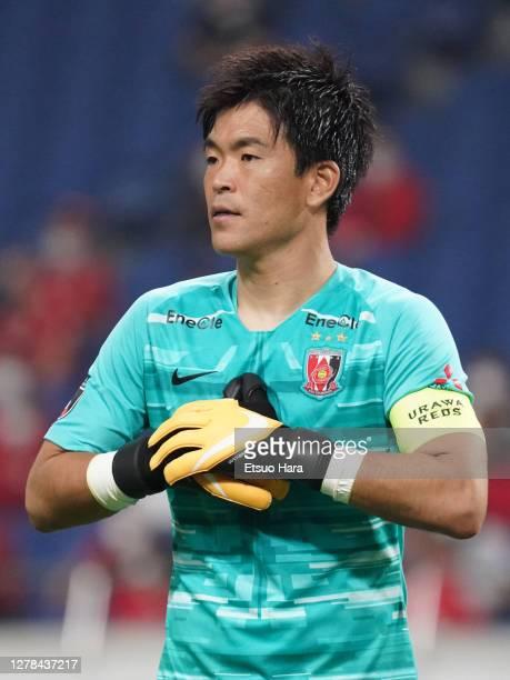 Shusaku Nishikawa of Urawa Red Diamonds in action during the J.League Meiji Yasuda J1 match between Urawa Red Diamonds and Nagoya Grampus at the...