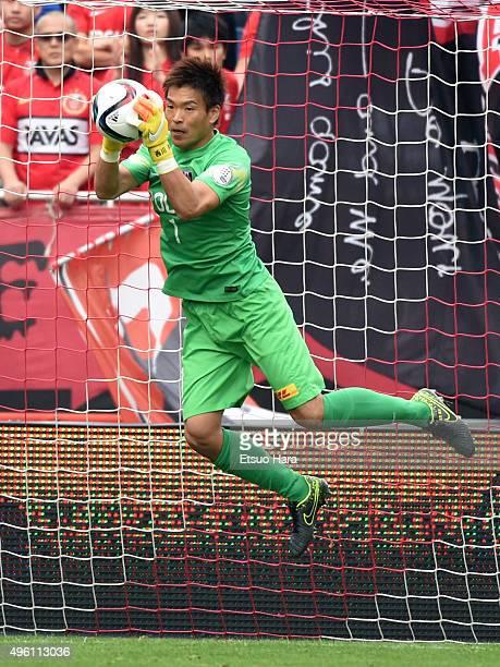 Shusaku Nishikawa of Urawa Red Diamonds in action during the JLeague match between Urawa Red Diamonds and Kawasaki Frontale at the Saitama Stadium on...