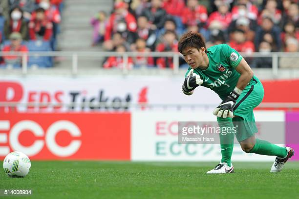 Shusaku Nishikawa of Urawa Red Diamonds in action during the JLeague match between Urawa Red Diamonds and Jubilo Iwata at Saitama Stadium on March 6...