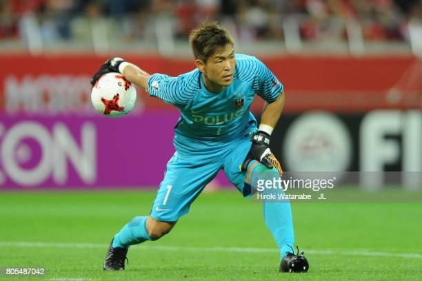 Shusaku Nishikawa of Urawa Red Diamonds in action during the JLeague J1 match between Urawa Red Diamonds and Sanfrecce Hiroshima at Saitama Stadium...