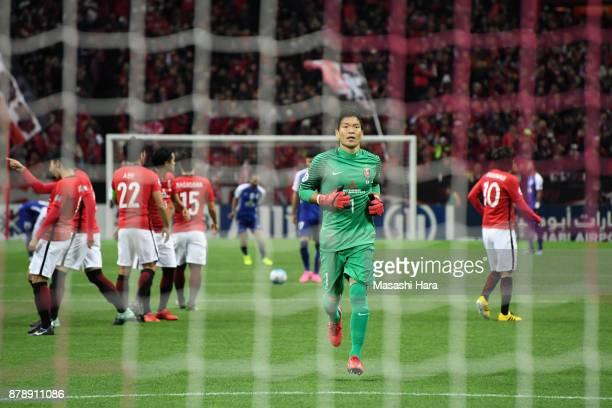 Shusaku Nishikawa of Urawa Red Diamonds is seen prior to the AFC Champions League Final second leg match between Urawa Red Diamonds and AlHilal at...