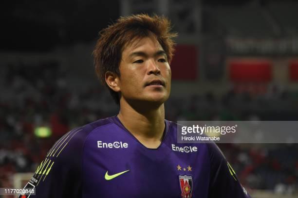 Shusaku Nishikawa of Urawa Red Diamonds looks on after the 99th Emperor's Cup Round of 16 match between Urawa Red Diamonds and Honda FC at Saitama...