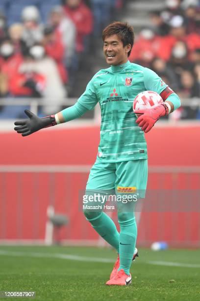 Shusaku Nishikawa of Urawa Reds looks on during the J.League YBC Levain Cup Group B match between Urawa Red Diamonds and Vegalta Sendai at Saitama...