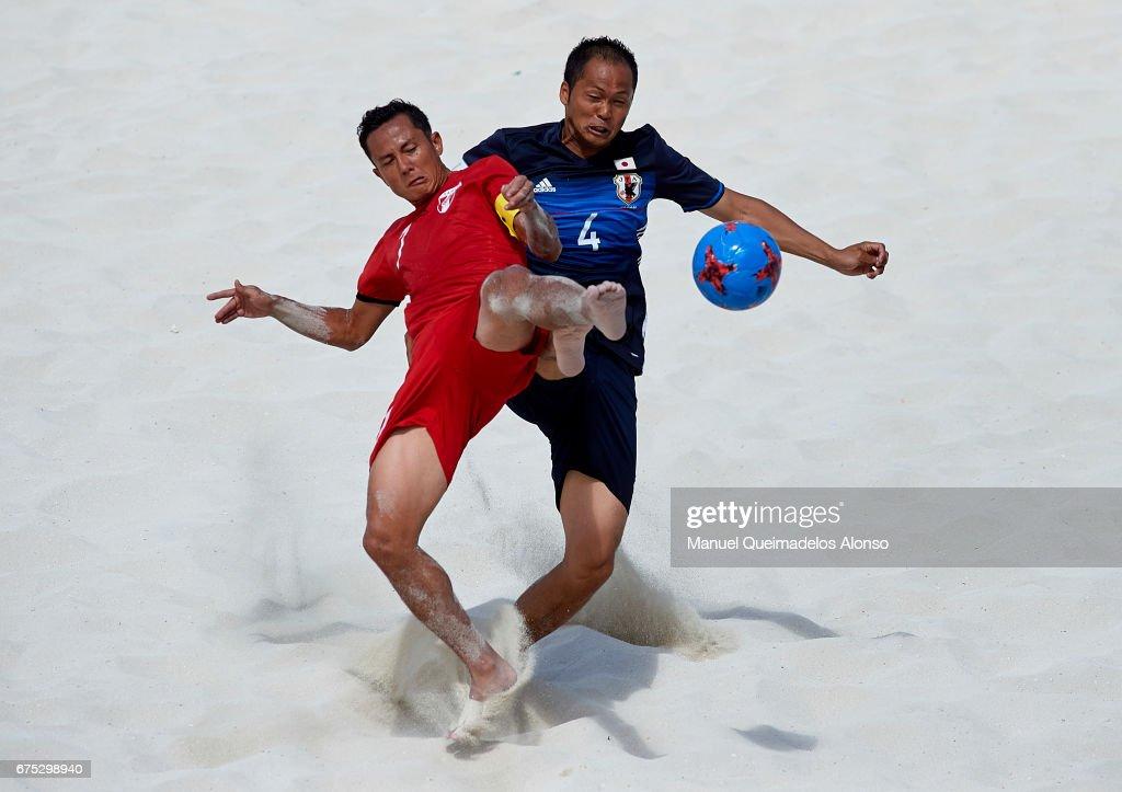 Tahiti v Japan - FIFA Beach Soccer World Cup Bahamas 201 : ニュース写真