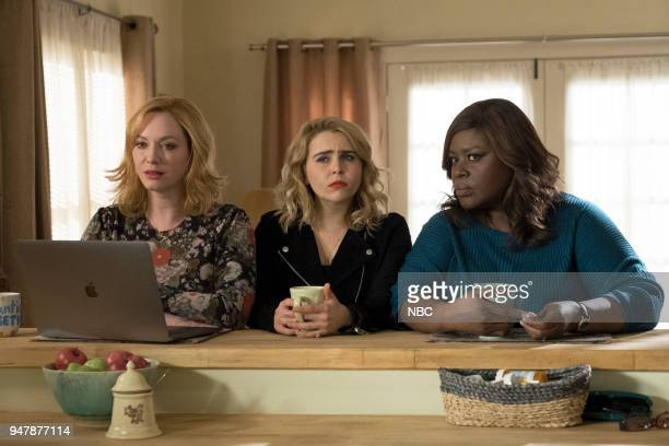 GIRLS 'Shutdown' Episode 108 Pictured Christina Hendricks as Beth Boland Mae Whitman as Annie Marks Retta as Ruby Hill