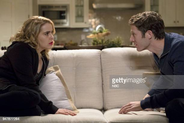 GIRLS 'Shutdown' Episode 108 Pictured Mae Whitman as Annie Marks Zach Gilford as Gregg