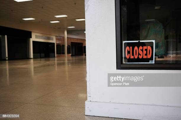 Shuttered stores dominate the interior of the Schuylkill Mall which is scheduled to close in the coming months on May 17 2017 in Frackville...