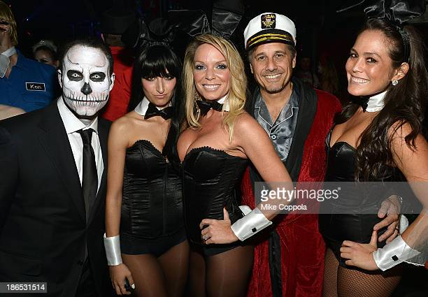 Shutterfly CEO Jeffrey Housenbold Jennifer Mazur and photographer Kevin Mazur attend Shutterfly Presents Heidi Klum's 14th Annual Halloween Party...