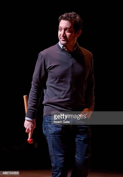 Shutterstock CEO Jon Oringer attends the The Disruptive Innovation Awards during the 2014 Tribeca Film Festival at Jack H Skirball Center for the...