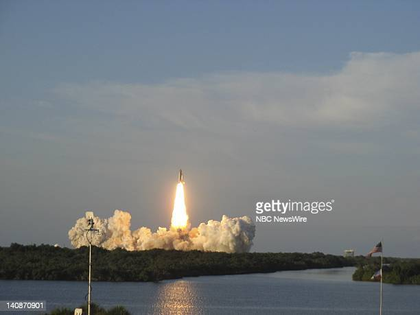 Shuttle Atlantis Launch -- Pictured: Shuttle Atlantis launches from Kennedy Space Center on June 8, 2007 -- Photo by: Jonathan Webb/NBC NewsWire