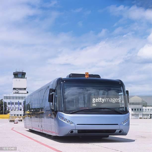 bus-navette de l'aéroport