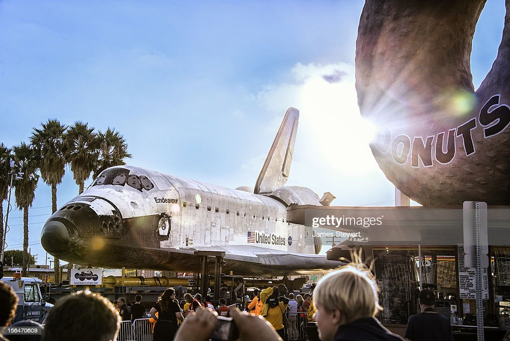 Shuttle Endeavour by Randy's Donuts.