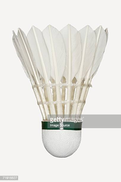 shuttlecock - badminton stock photos and pictures