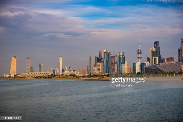 shuwaikh beach, kuwait city - kuwait city stock pictures, royalty-free photos & images