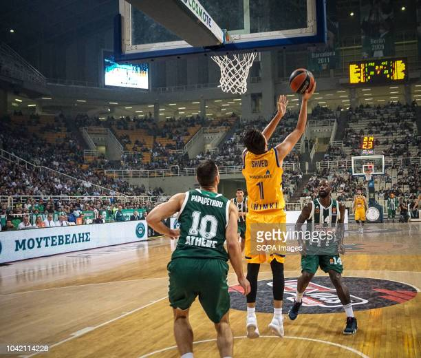 Shved Aleksey of BC Khimki in action during the tournament Pavlos Giannakopoulos between Panathinaikos and Khimki at Athens Olympic Indoor Hall